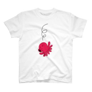 ガモさんのタコ T-shirts