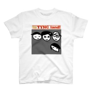 Kekyo & Yoritan RECORDSのTHE TYNC land T-shirts