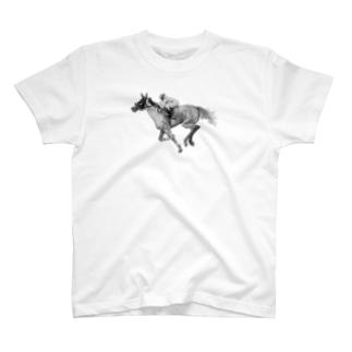 馬の素描Tシャツ6 T-Shirt