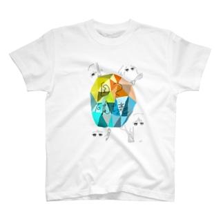 じこはかい T-shirts