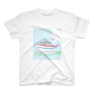 歯磨きハトくん T-shirts