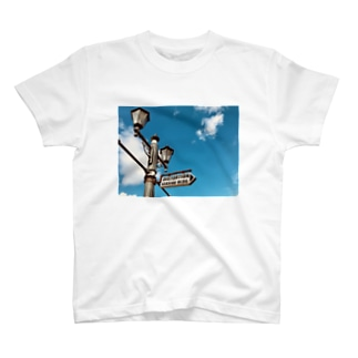 mihonoのSTREET LAMP T-shirts