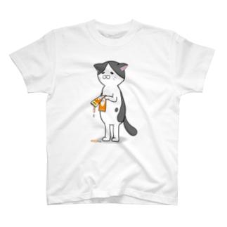 しょんぼり猫 T-shirts