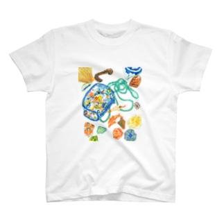 水族館と海の思い出 T-shirts