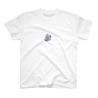 ぴかぴかスパンコール鉱石 T-shirts