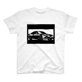 NISSAN シルビアS15切り絵デザイン2 T-shirts