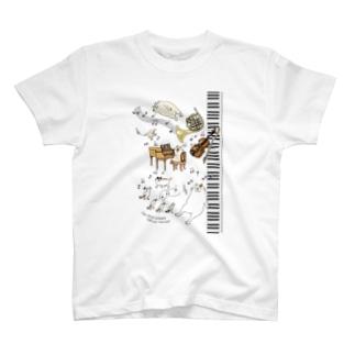 CatChips concert-鍵盤2 T-shirts