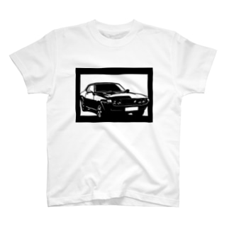 TOYOTA セリカTA22切り絵デザイン T-shirts