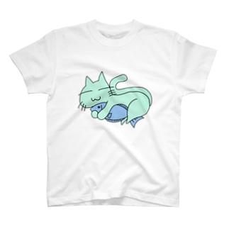 さかなねこ T-shirts