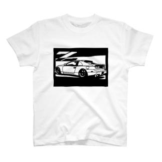 NISSAN フェアレディZ Z32切り絵デザイン1 T-shirts