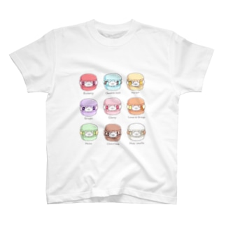 ちーくマカロン T-shirts