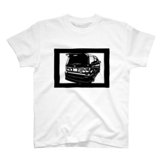 TOYOTA アルファード 切り絵デザイン2 T-shirts