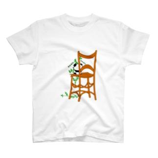 モシャモシャ食う子パンダ T-shirts