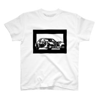 MITSUOKA ラ・セード切り絵デザイン T-shirts