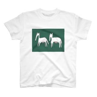 最強の草食動物 T-shirts