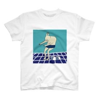 スーパー銭湯うさぎ T-shirts