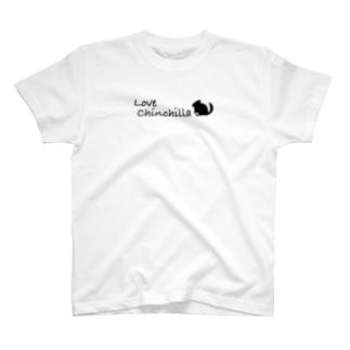 Love  chinchilla T-shirts