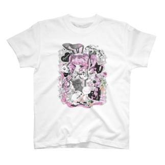 BUNNY♡BUNNY T-shirts