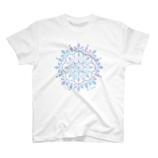 MANDARA-light blue- T-shirts