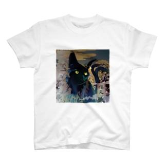 猫又Tシャツ T-shirts