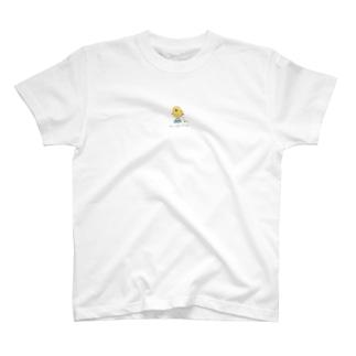ひよこと富士山 カラー T-shirts