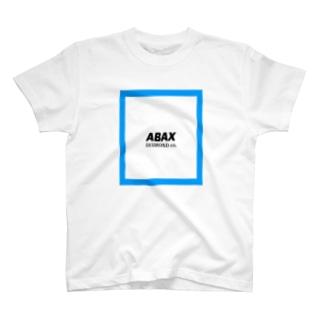 ABAX DIAMOND co. ブルーボックスT ワンカラー T-shirts