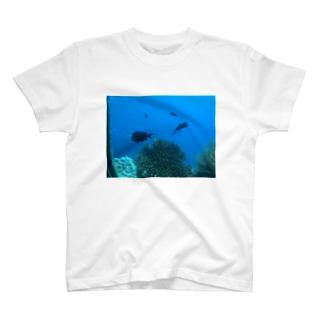 グアムの海 T-shirts