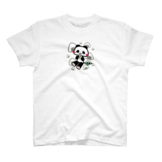 至福のおにぎりタイム♪(灰色) T-shirts