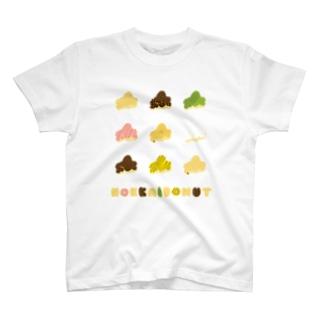 ほっかいどーなつ T-shirts