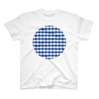 よく見るチェック T-shirts