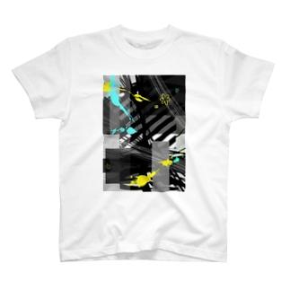 花*曇のクラシック*レモンミント T-Shirt