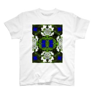 ガクアジサイ T-shirts