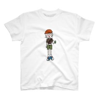 #古着女子 でインスタ投稿する人 T-shirts