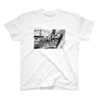 風景画 T-shirts