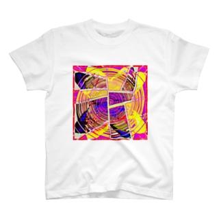 サイケデリック・パッション/バジル T-shirts