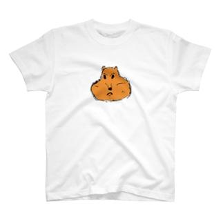 埋めたどんぐりを忘れないリス T-shirts