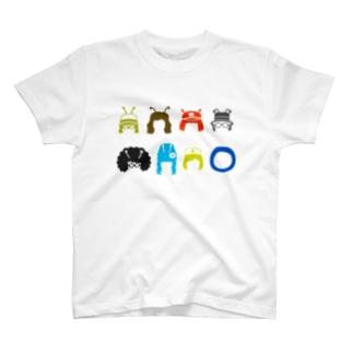 劇団どくんご「OUF!」 総天然色 T-shirts