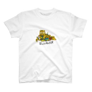 ブルドーザー T-shirts
