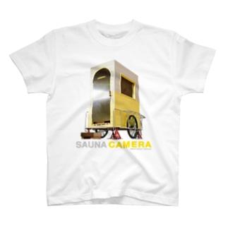 人力移動式サウナ「CAMERA」 T-shirts