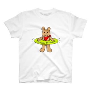ソーシャルディスタンスくま T-Shirt