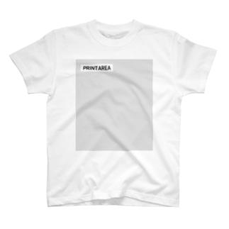 プリントエリアチェック T-shirts