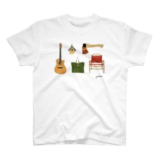 山小屋のもの T-shirts