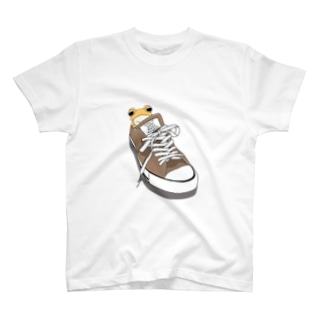 靴とミヤコヒキガエル T-shirts
