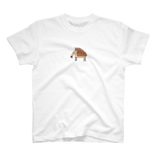 傷口にハリネズミ T-shirts