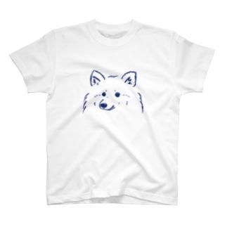 ふわふわわんこTシャツ (さわやかカラーVer.) T-shirts