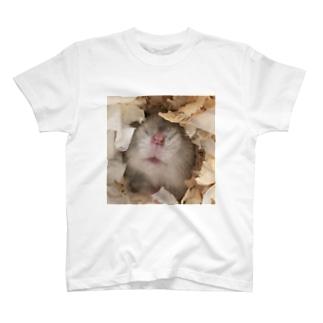ハムスターのお鼻 T-shirts