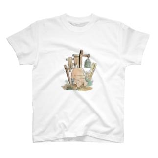妖怪 ぬっぺっぽう T-shirts