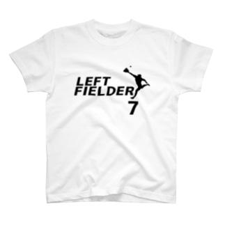 レフトフィールダー(背番号7) T-shirts