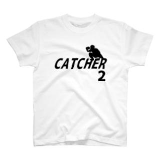 キャッチャー(背番号2) T-shirts