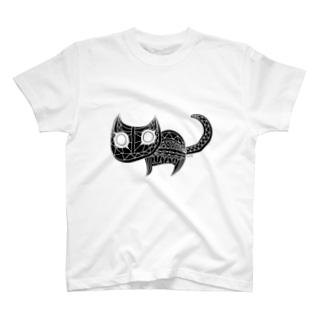 ソニカ_ねこ T-shirts